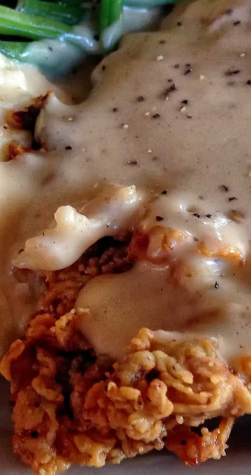 Deep fried chicken fried steak recipes