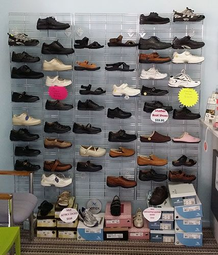 Ladies comfort and athletic shoes 30% to 50% OFF. Save up to $95.00. Great range of colors and sizes, but when they're gone they're gone. Be Quick