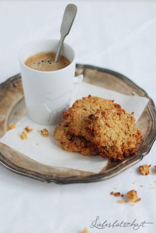 Liebesbotschaft: Best Oatmealcookies!