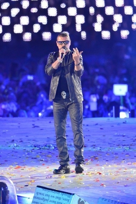 george michael Olympic games