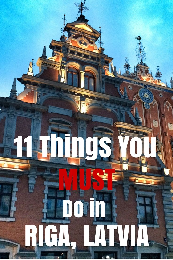 11 Things You Must Do in Riga, Latvia. Click the pin to read the post from www.flirtingwiththeglobe.com