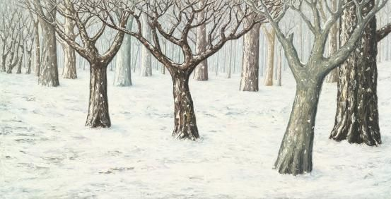 """Peter BOOTH, """"Winter"""" (1993)  NGV Collection, Melbourne"""