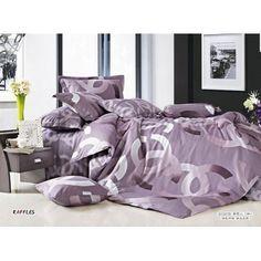 """50% Rabatt """"Chanel Paris Bettwäsche günstig billig gut preiswert King Size Seide Baumwolle Bed Set 6 Teilig"""""""