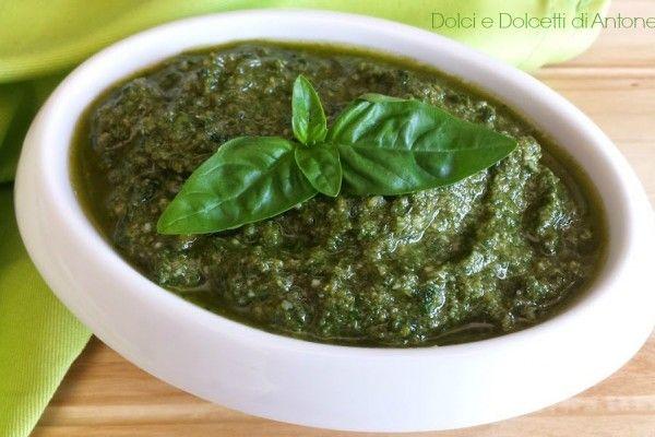 Pesto alla genovese, Ricetta bimby