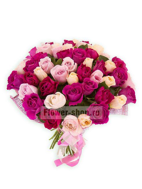 Букет «Большая коллекция роз Дэвида Остина»