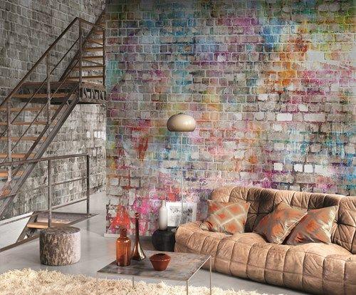 Thiry Paints - Behang Casadeco - Caselio - caselio, casadeco, behangpapier, behang, vliesbehang, vinylbehang, kinderbehang, kleurrijk, strepen, bollen, figuren, bloemen, klassiek, hedendaags, modern, wallpaper, fotobehang