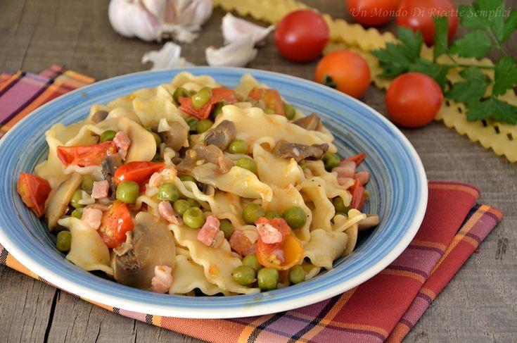 Le reginette saporite sono un primo piatto semplice e ricco di gusto, si preparano in poco tempo e il risultato è ottimo!