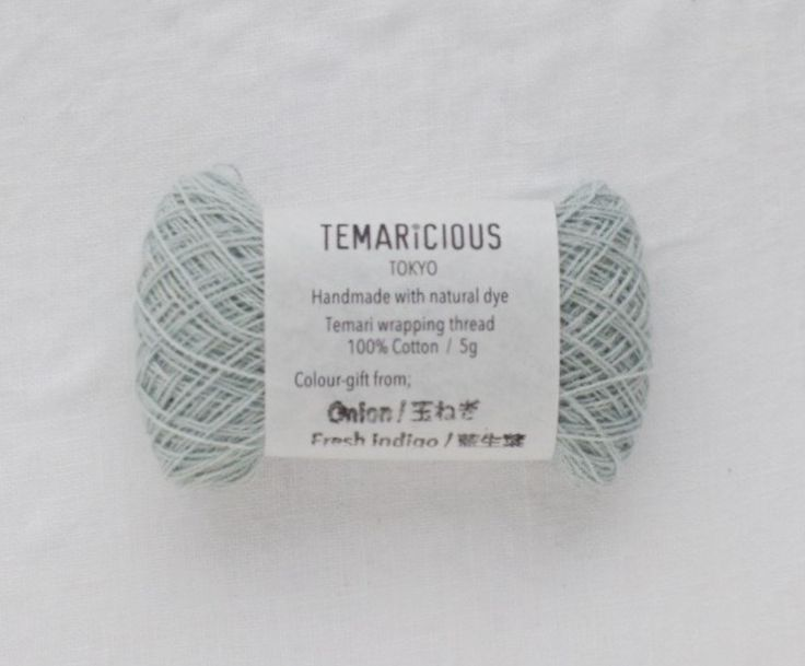 Temaricious thin thread 5g/140m no.B6  for Temari wrapping, embroidery, sashiko, kogin etc.