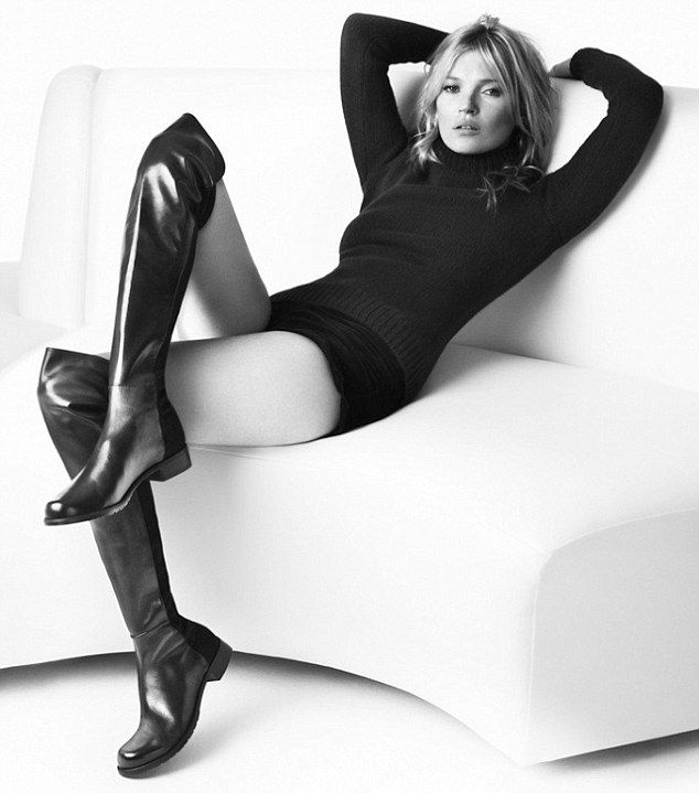 Kate Moss for Stuart Weitzmann
