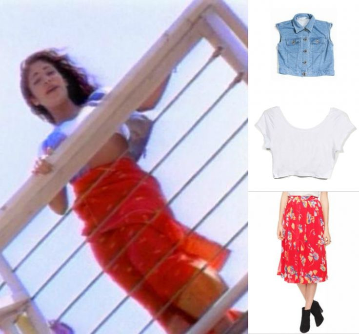 What was Selena wearing in the Bidi Bidi Bom Bom video? <3