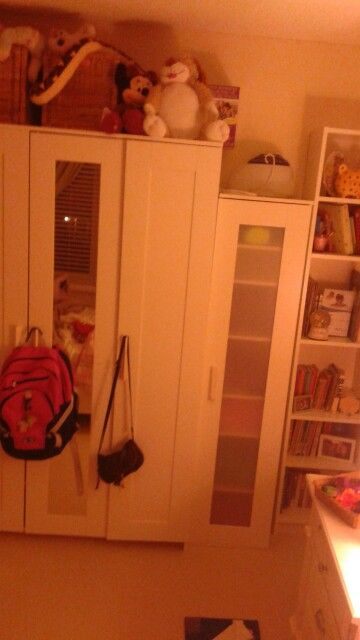 Cutest wardrobe,bookcase and storage case from ikea.