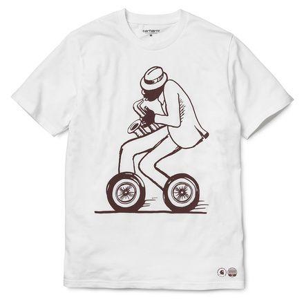 Carhartt WIP S/S Jazz Artist T-Shirt http://shop.carhartt-wip.com:80/us/men/tshirts/soundofdetroit/I020116/ss-jazz-artist-t-shirt