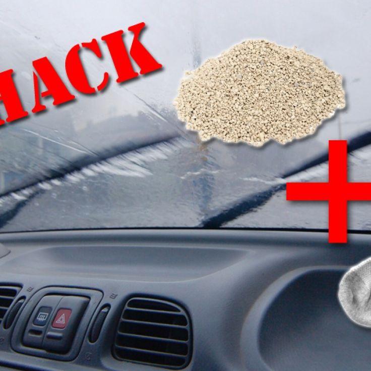 Mit diesem einfachen Trick müsst ihr euch nicht mehr mit lästiger Feuchtigkeit im Auto rumschlagen.