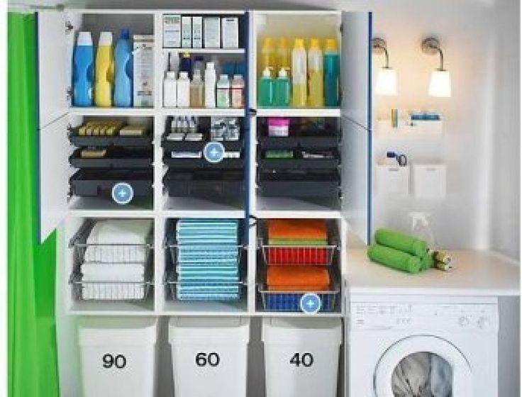 40 mejores im genes de muebles lavadero en pinterest - Armarios para lavaderos ...
