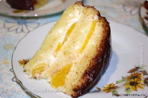 Рецепт для мультиварки. Горчичный торт (520x346, 102Kb)