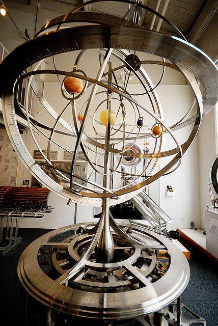 Orrery -Solar System Globe