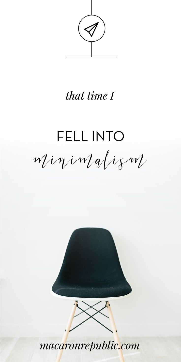 This is the story of how I quit my job, started my business and fell into Minimalism.
