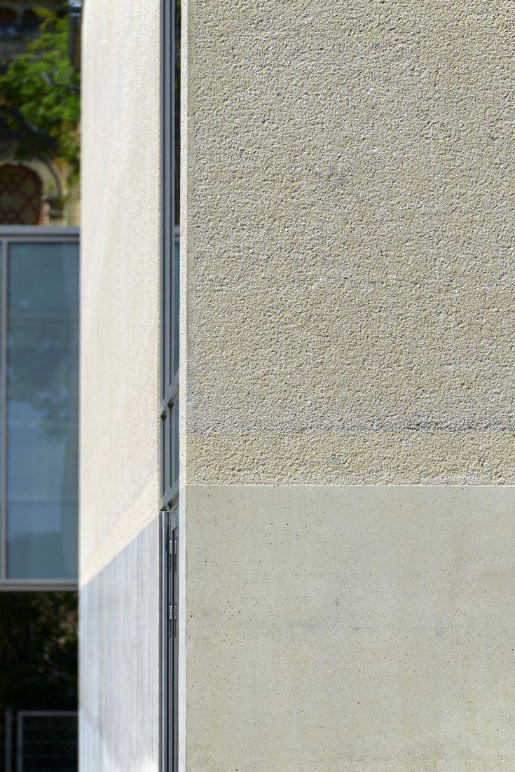 Beton gestockt beton au enfassade stocken beton for Beton haus bauen