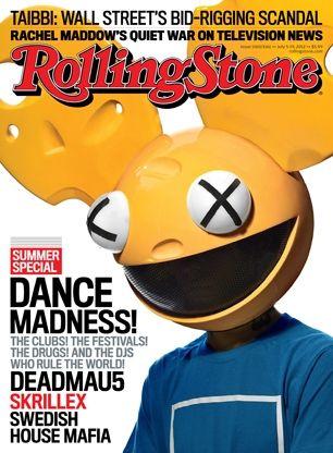 Deadmau5 es la portada de Rolling Stone en la edición especial de verano. Habla sobre David Guetta, Skrillex y Madonna.