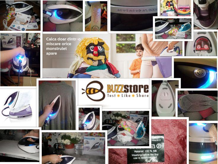 Campanie de testare - #BuzzStore si #AcasacuPhilips  #PhilipsPerfectCare  *sunt BUZZer (parte a comunitatii BUZZStore) si impartasesc aceste opinii in cadrul unei campaniei de testare de produse gratuite oferite de BUZZStore.