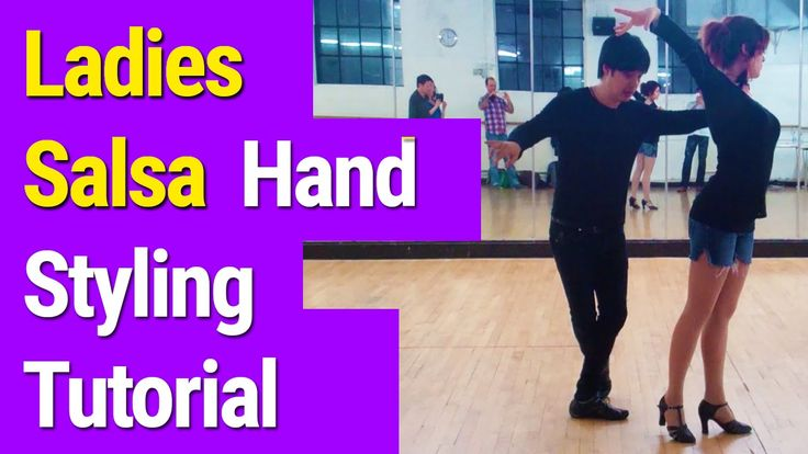 How to do Ladies #Salsa #dance Hand Styling  Tutorial - Salsa Classes London