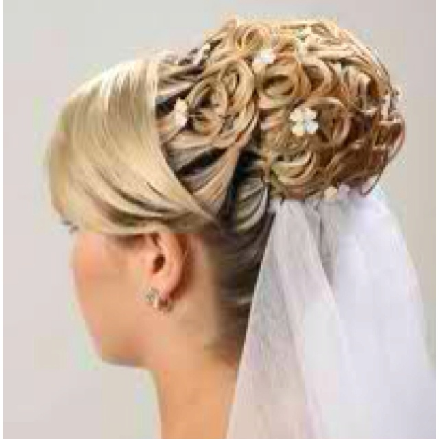 The hairdo I am trying to do for Russie's wedding!