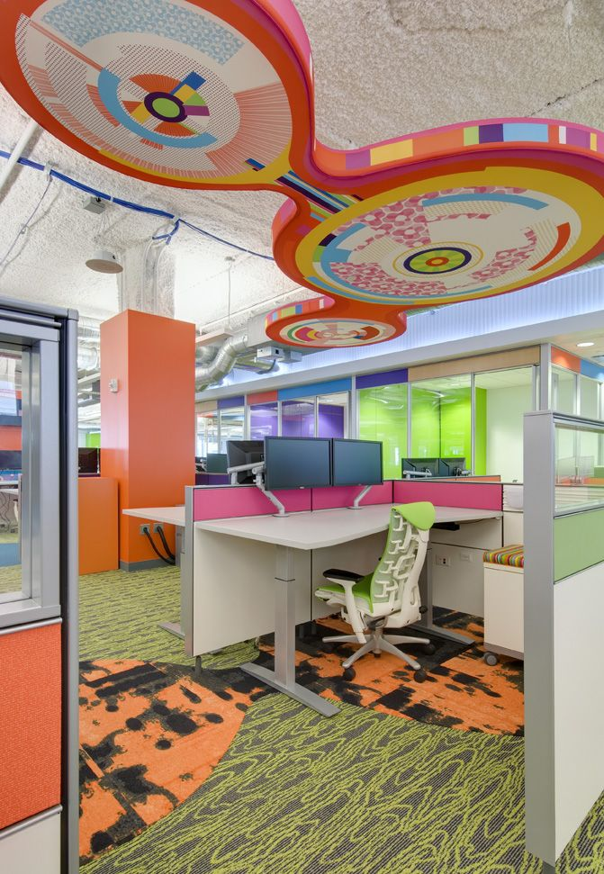 49 best office space ideas images on pinterest for Cool office space ideas