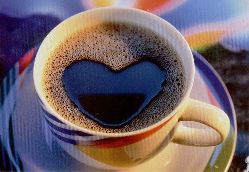 I love waking up to a cup of coffee :)