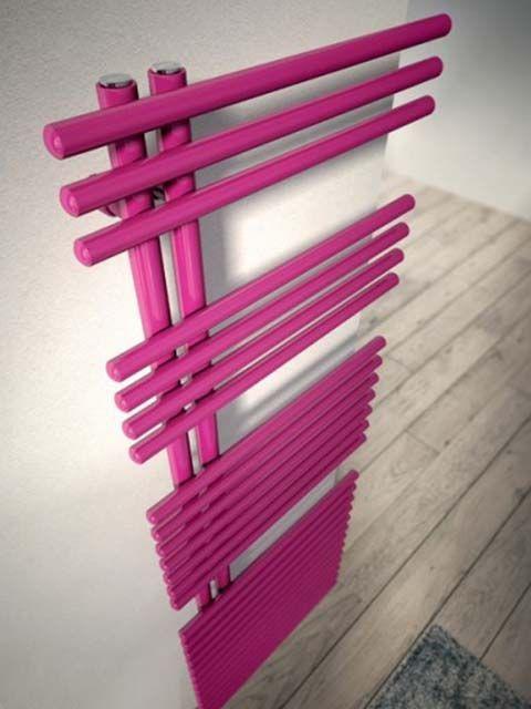 Blues radiator - towel radiators, asymmetric radiators