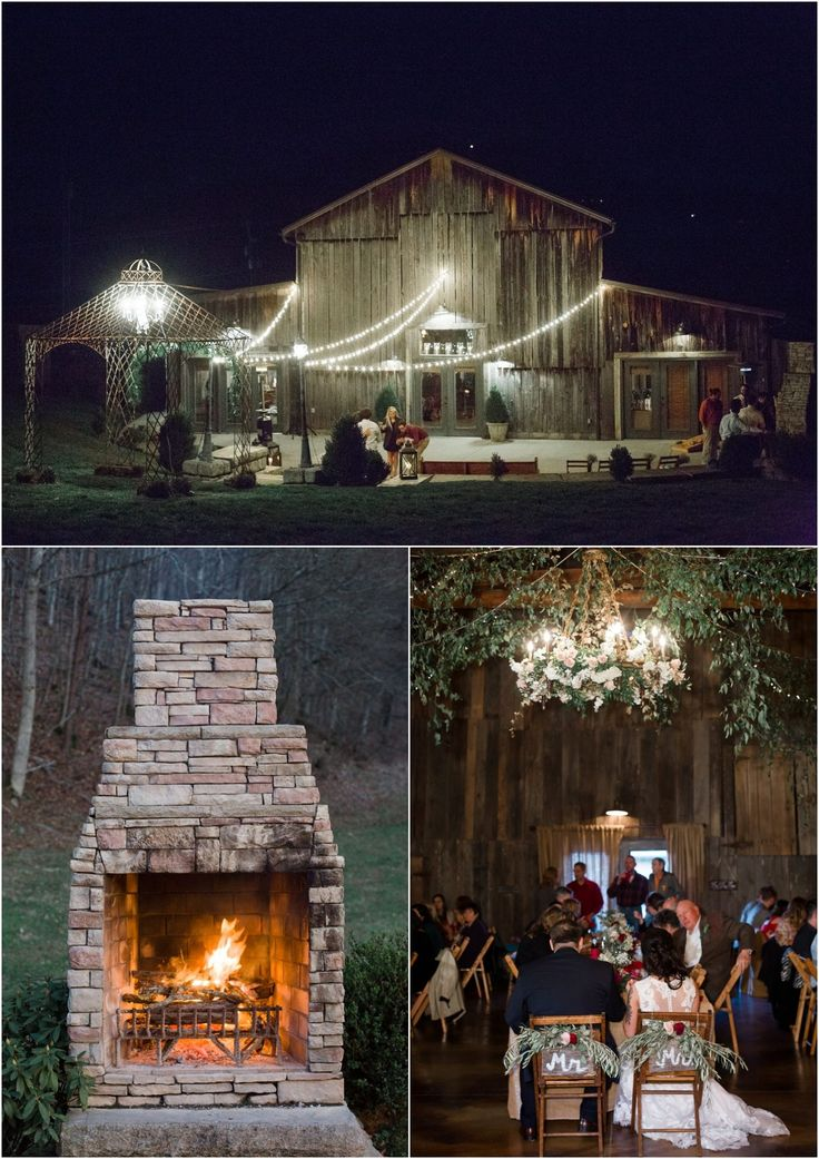 Smoky Mountain wedding at the Barn at Chestnut Springs in Sevierville, TN