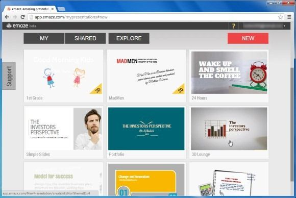EMAZE Create Amazing Interactive Presentations From Your Browser With Emaze   PowerPoint Presentation