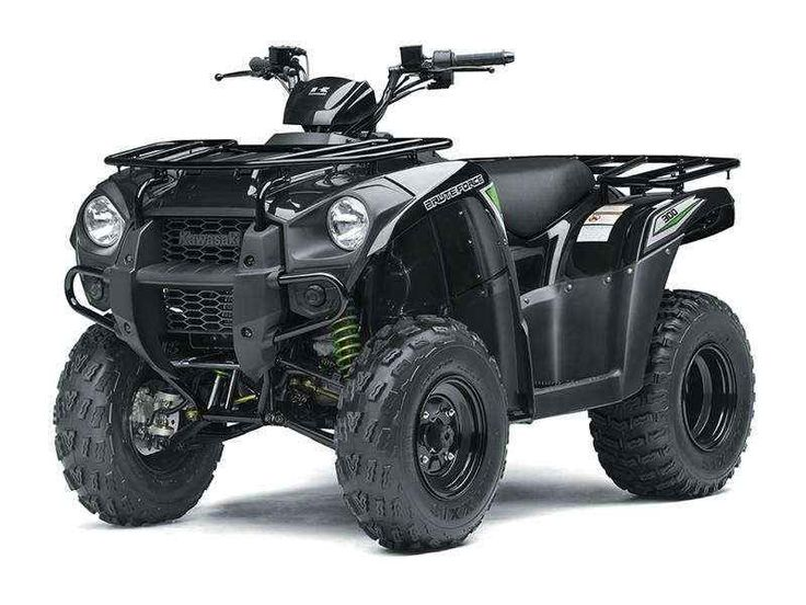 New 2017 Kawasaki Brute Force® 300 ATVs For Sale in Florida. The Brute Force® 300 ATV is perfect for riders 16 and older searching for a sporty and versatile ATV, packed with popular features, for a low price making it great value. Strong 271 cc liquid-cooled, four-stroke engine with electric start Ultra-smooth automatic Continuously Variable Transmission (CVT) has Hi / Lo ranges and reverse Rugged and powerful front and rear disc brakes Front and rear cargo racks and 500 lbs. of towing…
