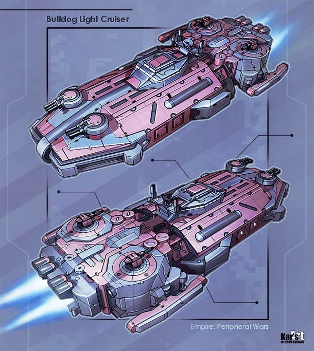 Maelstrom – 25 awesome spaceship design concepts by KaranaK