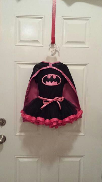 Batman tutu costume $45 + $15 shipping