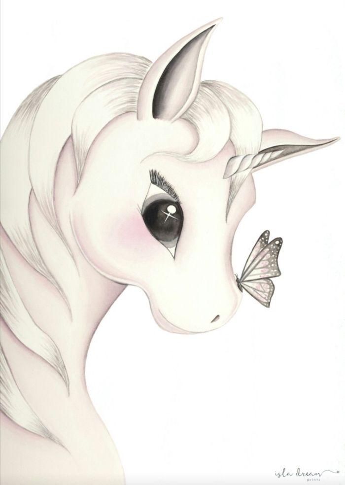 1001 Ideas For Making Original Art With A Unicorn Drawing Cizim Egitimleri Cizimler Cizim