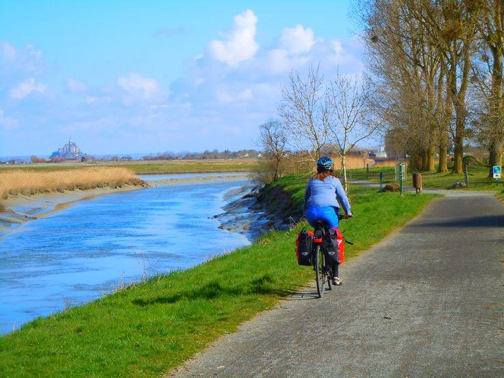 La Bretagne et le mont saint michel à vélo