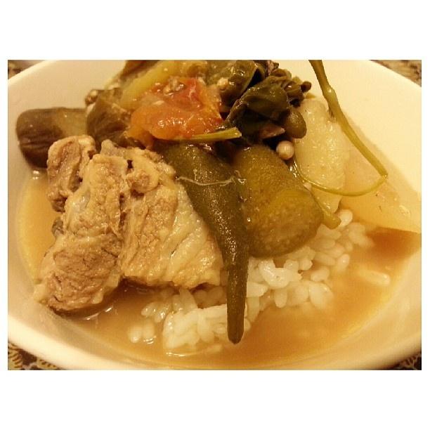 #晩ごはん #シニガン#フィリピン#料理#sinigang for #dinner#yummy#filipino#food#philippines