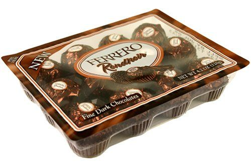 FERRERO Rondnoir Fine Dark Chocolates Box NET WT 4.2 OZ (120 g) - http://mygourmetgifts.com/ferrero-rondnoir-fine-dark-chocolates-box-net-wt-4-2-oz-120-g/