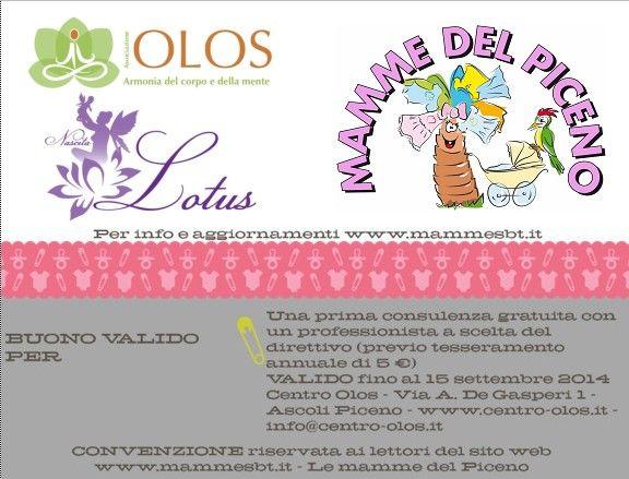 Nuova convenzione - Centro OLOS