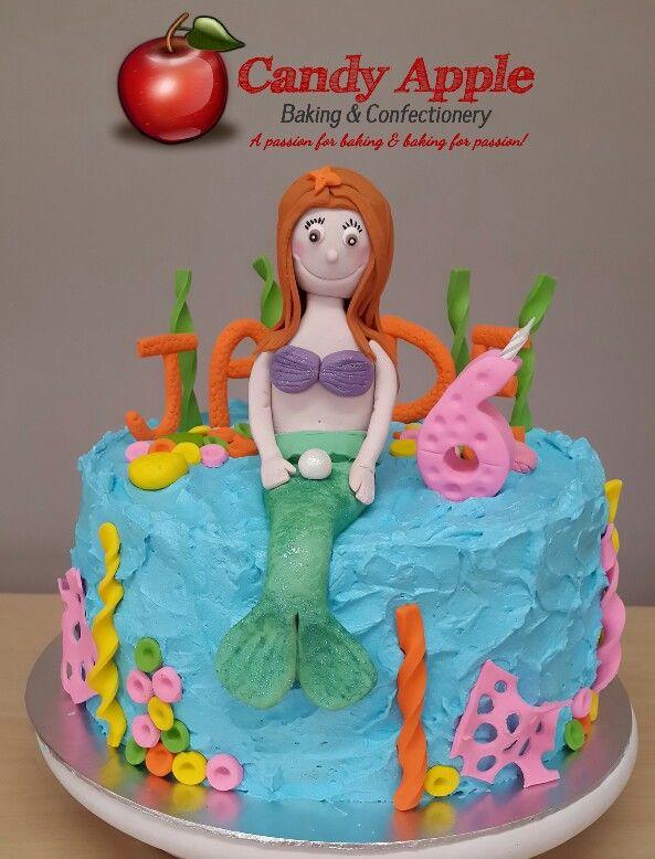 Mermaid cake https://m.facebook.com/candyapplecreations