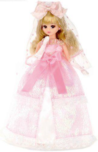 リカちゃん LW-16 ウェディングドレスセット ピンク:Amazon.co.jp:おもちゃ