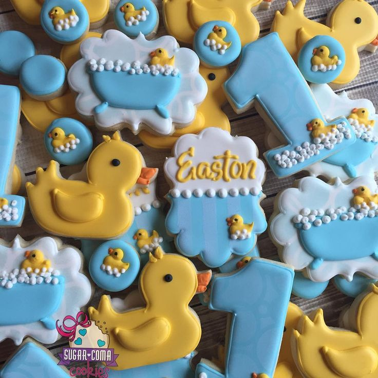 1000+ Ideas About First Birthday Cookies On Pinterest