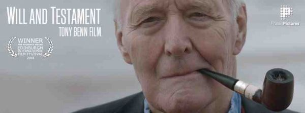 Tony Benn - Will and Testament at The Cube Cinema in Bristol on Monday 6 April 2015