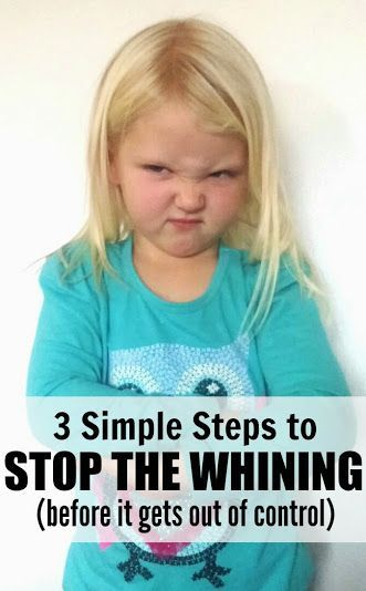 3 Simple Steps to Stop the Whining