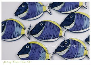 Claire's paper craft: Paper Quilling Fish- Nimo, Tang