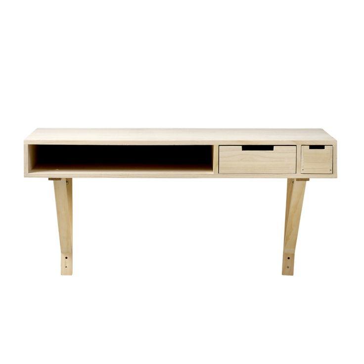 Biurko ścienne-konsola