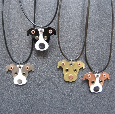 110 best pit bull jewellery images on pinterest pit bull pit a handcrafted leather cord necklace which features a pit bull pendant aloadofball Gallery