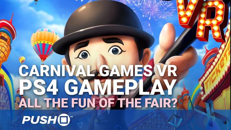 Carnival Games VR PS4 Gameplay: All the Fun of the Fair? | PlayStation 4...