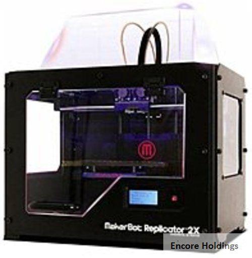 MakerBot Replicator 2X MP05927 Experimental 3D Printer - Wired - USB 2.0 - AC #wired #printer #experimental #replicator #makerbot