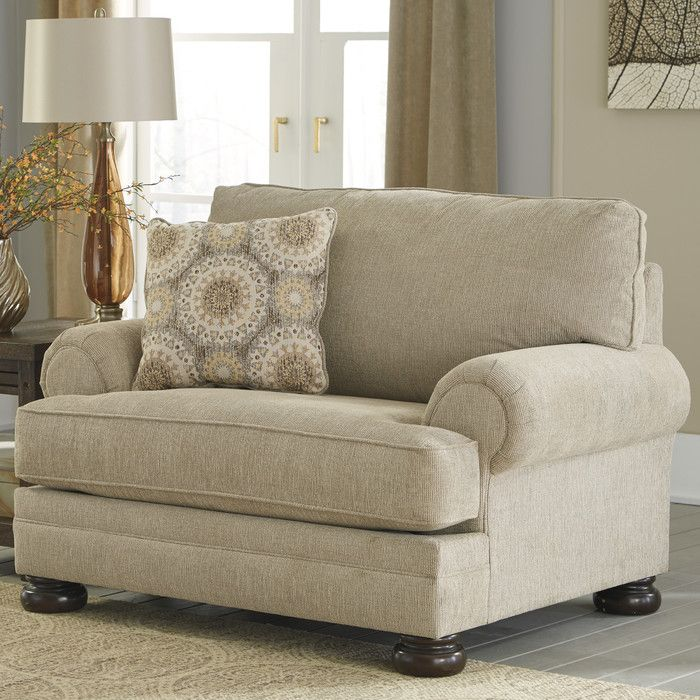 Benchcraft Quarry Hill Chair and a Half   Reviews   Wayfair. 25  best ideas about Oversized Chair on Pinterest   Big comfy